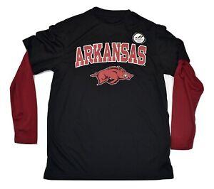 J. America Youth Boys Arkansas Razorbacks Shirt New S, M, L, XL