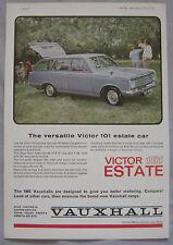 1964 Vauxhall Victor 101 estate Original advert