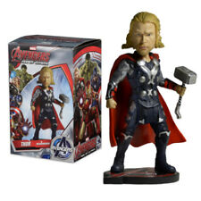 "NECA MARVEL AVENGERS 2 THOR EXTREME XL 8"" HAND PAINTED HEAD KNOCKER BOBBLE HEAD"