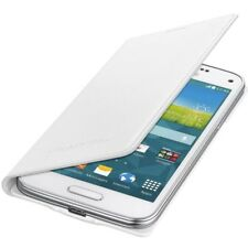 Genuine Samsung Galaxy S5 Mini Abatible Cubierta | Blanco