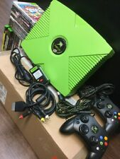 Microsoft Xbox Mountain Dew LIMITED EDITION RARE 1 of 5000 BUNDLE w/ 20 GAMES