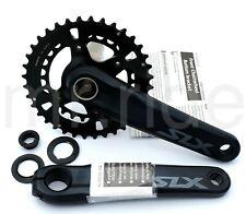 SHIMANO SLX 2 x 12-speed 175mm MTB Bike Crank set FC-M7120-B2 Boost 36-26T Black