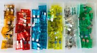 120 Assorted Car Truck Standard Fuses 5,7.5,10,15,20,25,30 AMP