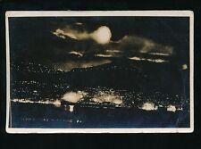HONG KONG Illuminations by night RP PPC c1920s?