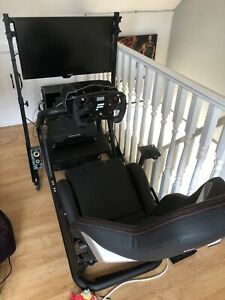 Fanatec Full Racing Rig Set Up, Includes PC Everything Needed. Simulator Driving