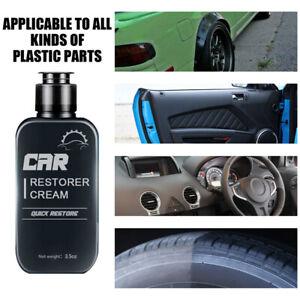 100ML Auto Leather&Plastic Refurbishment Paste-Car Restorer Cream Quick Restore