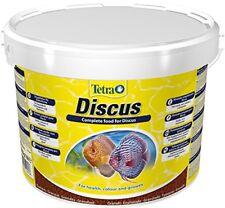 Tetra granuli di Discus 10 L Secchio granulato Mangime per Pesci Cibo del