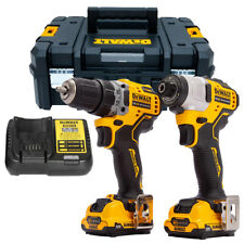 DeWalt DCK2110L2T 12V Brushless Drill Driver & Impact Driver 2 x 3.0Ah Batteries
