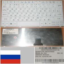 Clavier Qwerty Russe ACER Aspire One 751 751H ZA3 9Z.N3C82.20R AEZA3700020 Blanc
