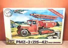 1/72 PST PMZ-2 (ZIS-42) FIRE ENGINE MODEL KIT # 72048