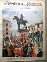 La Domenica del Corriere 15 Luglio 1900 Cina Garibaldi a Bologna Ottone Napoli