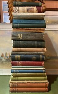 JOB LOT of 22 x Vintage & Antiquarian Books of POETRY