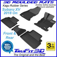 Fits Subaru XV 2018 - 2020 - 3D Rubber Moulded Floor Mats