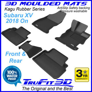 Fits Subaru XV 2018 - 2021 - 3D Rubber Moulded Floor Mats
