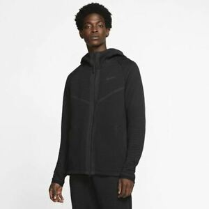 Nike Sportswear Tech Pack Engineered Mens Hoodie Black Size M Casual Sportswear