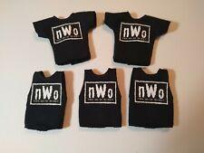 WWE Mattel Elite 5 Custom Original NWO Shirts for Wrestling Figure WCW NJPW ROH
