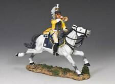 King & Country RETIRED NA251 Cuirassier Charging Bugler - Mint in the Box