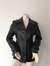 Scully Women Leather Jacket Size M. Black