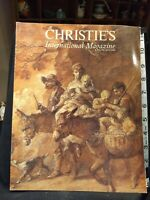 Christie's International Magazine  June/July 1992 Meredith Etherington-Smith (ed