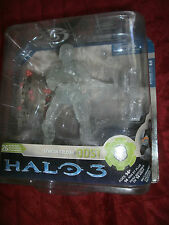 HALO 3 SERIES 3 ODST SPARTAN SOLDIER MATCHING HALO 3 CLEAR ACTIVE CAMO