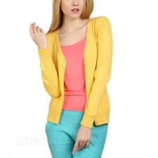 Damen-Pullover mit mittlerer Strickart V-Ausschnitt in Größe 40