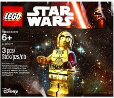 LEGO 3PO Star Wars C-3PO C3PO Red Arm Minifigure in sealed Polybag 5002948