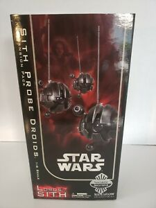 Star Wars Sith Probe Droids Sideshow Inclusuve