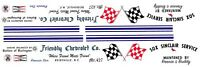 SOX & MARTIN '63 Chevrolet Impala NHRA 1/24th Scale Waterslide Decals
