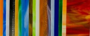 """Stained Glass Sheet Variety Pack of 10- 8"""" X 4"""""""
