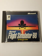 Microsoft Flight Simulator 98 pc cd rom game