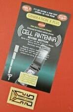 2x Universal Antennen Aufkleber - GEN X Plus - Signalverstärkung, Handy-Booster