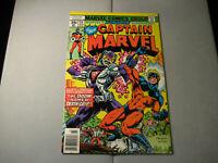 Captain Marvel #55 (1st Appearance Death-Grip) (1978 Marvel)