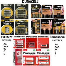 Duracell Power Plus, Simply & Ultra Batteries Panasonic / Sony Multi Buy SAVINGS