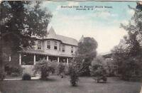 Postcard Greetings from St Francis' Health Resort Denville NJ 1918