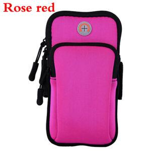 Portable Unisex Training Case Zipper Arm Bag Cell Phone Holder Gym Bodybuilding
