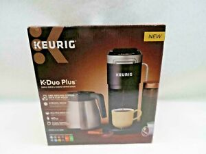 Keurig K-Duo Plus Single-Serve and Carafe Coffee Maker Black New Model