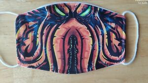 Face Mask Cthulhu Monster Octopus Lovecraft Horror Reusable Face Cover UK