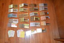 LOT OF 22 PENNSYLVANIA RESIDENT HUNTER LICENSES 1984 THUR 2008 MISSING 3 YEARS