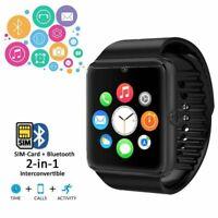 New Smart Watch with SIM Card & Bluetooth Touch Screen & Calls Bracelet GT09 UK