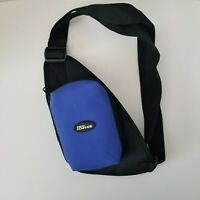 Black & Blue Gameboy Advance Shoulder Sling Removable Carrying Case Removable