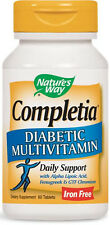 Completia Diabetic Multivitamin - 60 Tablets - Nature's Way