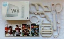BOXED NINTENDO WII SPORTS CONSOLE PACKAGE + LEGO WII REMOTE & LEGO GAMES
