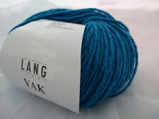 Lang Yarns Yak 50g Farbe 0179 türkis  weiche Wolle