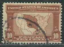 US Stamps 327 10¢ Brown LA Purchase Used F/VF 1901 SCV