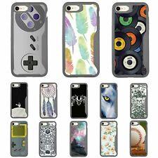 For Apple iPhone 7 Plus / iPhone 8 Plus 5.5 Slim Grey Gray Soft Edge Bumper Case
