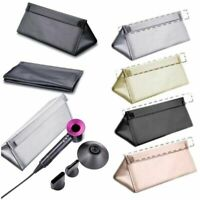 PU Leather Premium Travel Box Storage Case Bag For Dyson Supersonic Hair Dryer