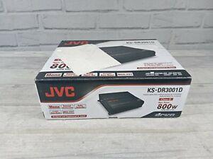 NEW JVC KS-DR3001D DRVN Series Class-D 2-Ohm Stable Monoblock Power Amplifier