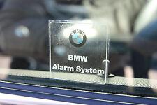 4x BMW Alarm Aufkleber | DIEBSTAHL EINBRUCH SCHUTZ ALARMANLAGE AUTO KFZ PKW