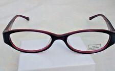 LULU GUINNESS 840 PURPLE New Designer  Eyeglass Frame For Women FLEX  HINGES