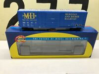 Athearn Ho Scale M&B Meridian & Bigbee RR 50' FMC Boxcar RD #4067 RTR NOS